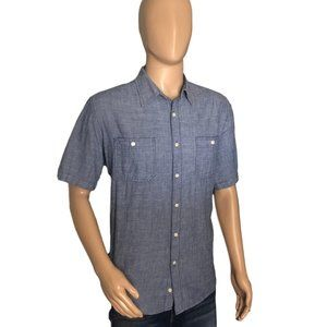 Size Large FADED GLORY (42-44) Cotton Button Down.